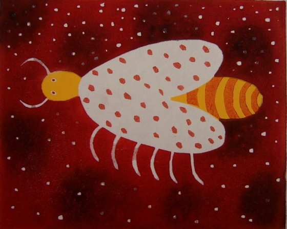"<h4 style=""margin:0px 0px 5px 0px"">Bee</h4>Medium: Woodblock<br />Price: $385 