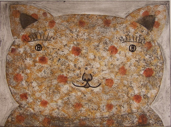 "<h4 style=""margin:0px 0px 5px 0px"">Cat</h4>Medium: Etching<br />Price: $1,200 