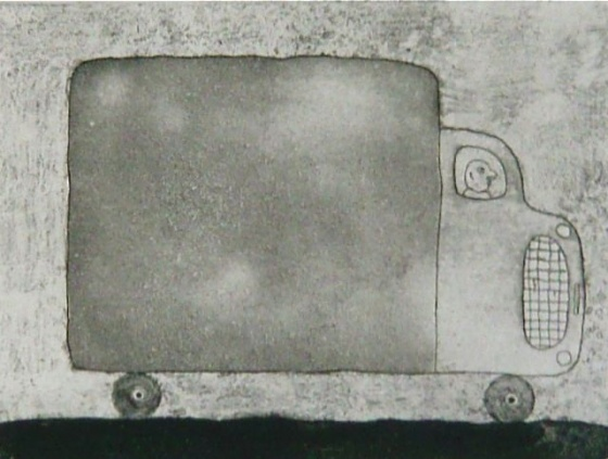 "Delivery<br /><br />Medium: Etching<br />Price: $385<br /><a href=""Artwork-Bowen-Delivery-2546.htm"">View full artwork details</a>"