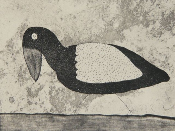 "Magpie<br /><br />Medium: Etching<br />Price: $385<br /><a href=""Artwork-Bowen-Magpie-2545.htm"">View full artwork details</a>"
