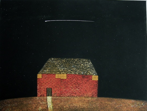 "<h4 style=""margin:0px 0px 5px 0px"">Night on earth</h4>Medium: Etching<br />Price: Sold 