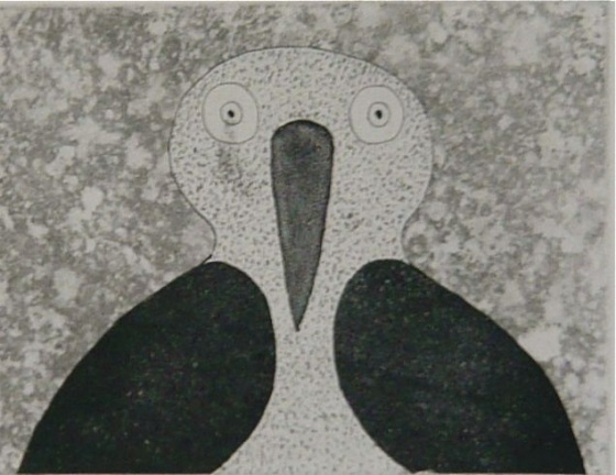 "Penguin<br /><br />Medium: Etching<br />Price: $385<br /><a href=""Artwork-Bowen-Penguin-2552.htm"">View full artwork details</a>"