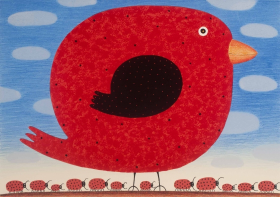 "Red Canary with<br /><br />Medium: Lithograph<br />Price: $1,200<br /><a href=""Artwork-Bowen-RedCanarywith-3074.htm"">View full artwork details</a>"