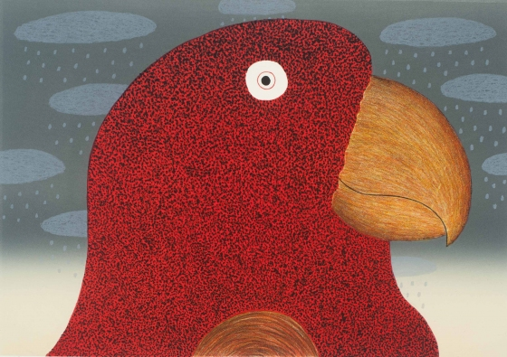 "Smiling Parrot<br /><br />Medium: Lithograph<br />Price: $1,200<br /><a href=""Artwork-Bowen-SmilingParrot-3065.htm"">View full artwork details</a>"