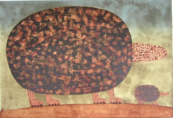 "<h4 style=""margin:0px 0px 5px 0px;"">Travelling turtles</h4>Medium: Lithograph<br />Price: $1,100 <span style=""color:#aaa"">