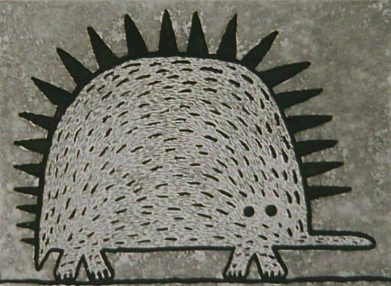 "Young Echidna<br /><br />Medium: Etching<br />Price: $385<br /><a href=""Artwork-Bowen-YoungEchidna-2548.htm"">View full artwork details</a>"