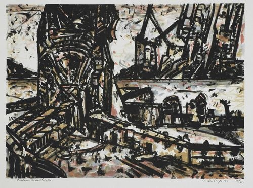 "<h4 style=""margin:0px 0px 5px 0px"">Jan Senbergs - Hudson Industrial</h4>Medium: Lithograph<br />Price: $990 