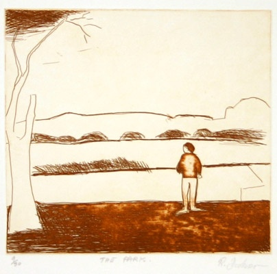 "<h4 style=""margin:0px 0px 5px 0px"">The Park</h4>Medium: Etching<br />Price: $900 