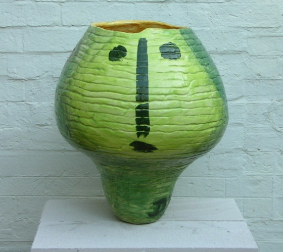 (Coil pot 2) by Deborah Halpern