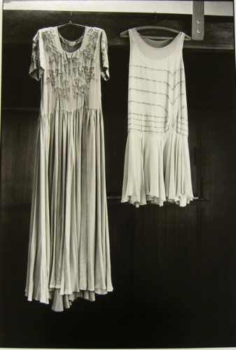 "<h4 style=""margin:0px 0px 5px 0px"">(C) Gingers hand made dresses</h4>Medium: silver gelatin print<br />Price: $950 