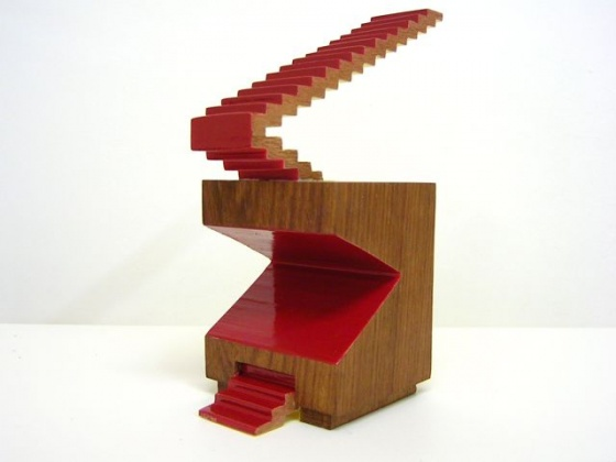 "<h4 style=""margin:0px 0px 5px 0px;"">Robert Hawkins - Escalator</h4>Medium: Timber & Enamel<br />Price: $700 <span style=""color:#aaa"">