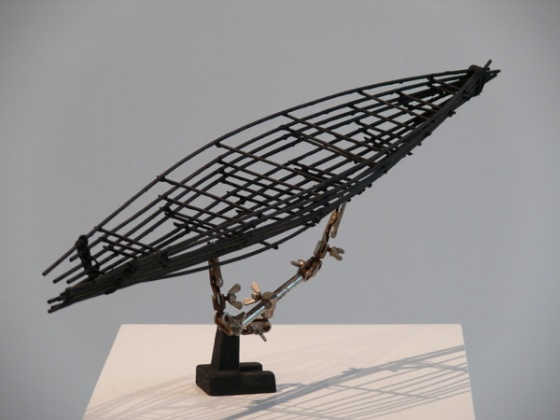 "<h4 style=""margin:0px 0px 5px 0px"">Dream Boat 1 by Robert Hawkins</h4>Medium: Wood &amp; metal<br />Price: $900 