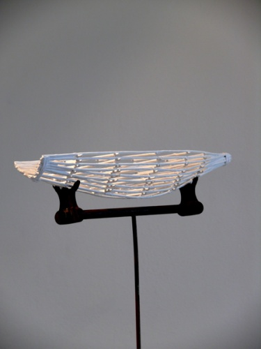 "<h4 style=""margin:0px 0px 5px 0px"">Dream Boat 2 by Robert Hawkins</h4>Medium: Wood &amp; metal<br />Price: Sold<span class=""helptip"" style=""color:#ff0000;"" title=""This artwork been sold""><img src=""/images/reddot1.gif"" border=""0"" height=""10"" /></span> 