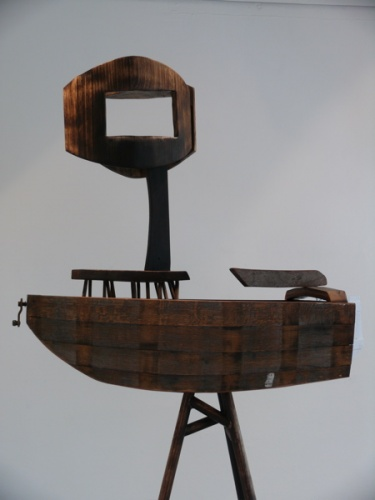 "<h4 style=""margin:0px 0px 5px 0px"">Lost in space by Robert Hawkins</h4>Medium: Wood & metal<br />Price: Sold<span class=""helptip"" style=""color:#ff0000;"" title=""This artwork been sold""><img src=""/images/reddot1.gif"" border=""0"" height=""10"" /></span> 
