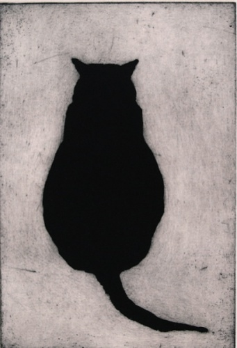 "<h4 style=""margin:0px 0px 5px 0px"">Fat Cat</h4>Medium: Etching<br />Price: $350 