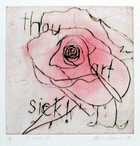 "<h4 style=""margin:0px 0px 5px 0px"">O Rose 3</h4>Medium: Etching & drypoint<br />Price: $ Price On Application 