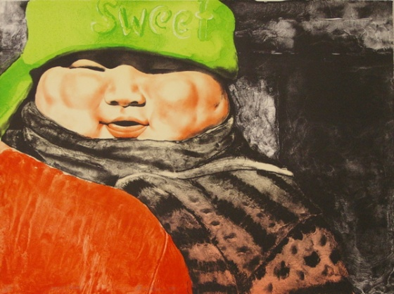 "<h4 style=""margin:0px 0px 5px 0px"">Sweet baby</h4>Medium: Lithograph<br />Price: $1,400 