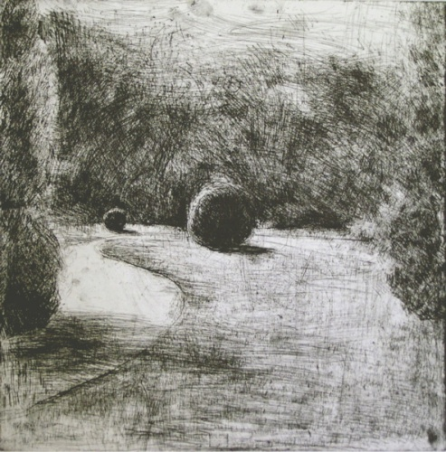 "<h4 style=""margin:0px 0px 5px 0px"">Ball by Kristin Headlam</h4>Medium: Etching<br />Price: $770 