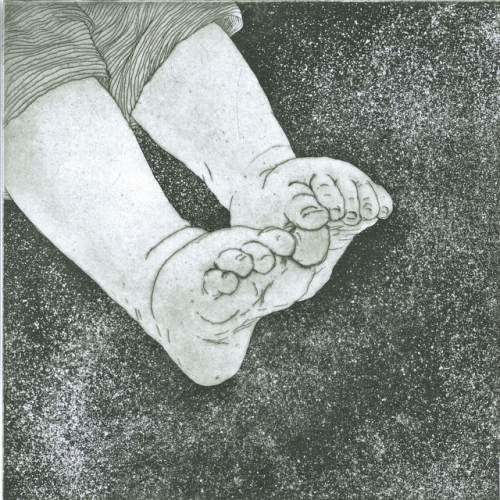 "<h4 style=""margin:0px 0px 5px 0px"">Feet by Kristin Headlam</h4>Medium: Etching & Drypoint<br />Price: $700 