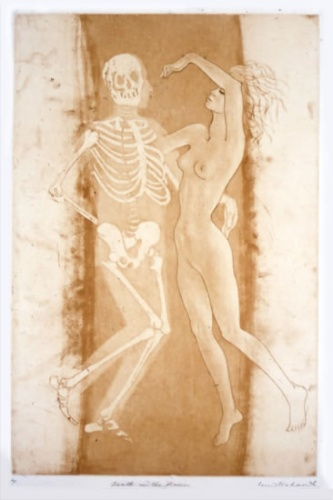 "<h4 style=""margin:0px 0px 5px 0px"">Death and the Maiden</h4>Medium: Etching/Drypoint<br />Price: $880 