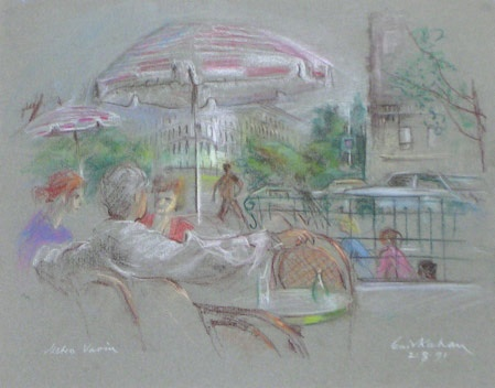 "<h4 style=""margin:0px 0px 5px 0px"">Metro Vavin</h4>Medium: Pastel<br />Price: Sold 