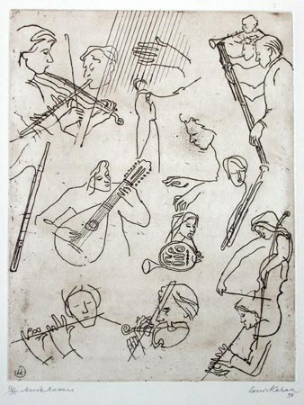 "<h4 style=""margin:0px 0px 5px 0px"">Music Makers</h4>Medium: Etching<br />Price: $700 