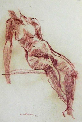 "Nude<br /><br />Medium: Pastel<br />Price: $2,000<br /><a href=""Artwork-Kahan-Nude-1058.htm"">View full artwork details</a>"