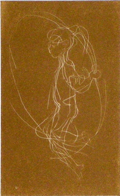 "<h4 style=""margin:0px 0px 5px 0px"">Skipping Girl II (Relief)</h4>Medium: Etching<br />Price: $930 