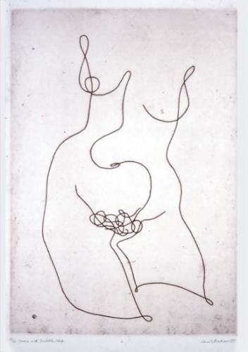 "<h4 style=""margin:0px 0px 5px 0px;"">Torso with Treble Clef</h4>Medium: Etching<br />Price: Sold <span style=""color:#aaa"">