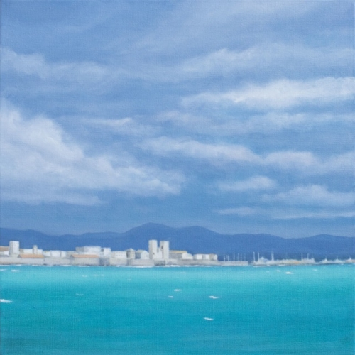 "<h4 style=""margin:0px 0px 5px 0px;"">Antibes - Turquoise Afternoon</h4>Medium: Oil on Canvas<br />Price: $2,500 <span style=""color:#aaa"">