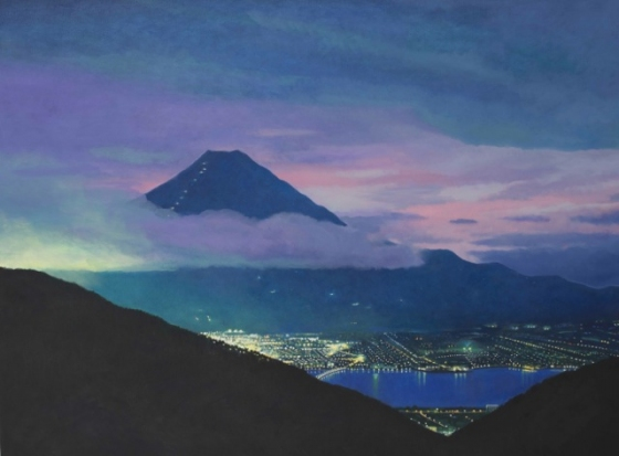 "<h4 style=""margin:0px 0px 5px 0px;"">Mt Fuji - City Meets Mountain </h4>Medium: Oil on canvas<br />Price: $6,500 <span style=""color:#aaa"">