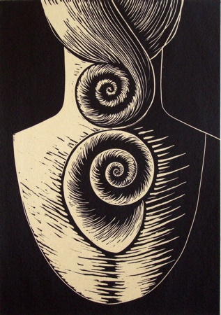 "<h4 style=""margin:0px 0px 5px 0px"">Shell</h4>Medium: linocut<br />Price: $400 