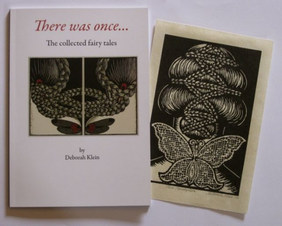 "There was once...including linocut Lace Lepidoptera<br /><br />Medium:  Book including linocut<br />Price: $300<br /><a href=""Artwork-Klein-Therewasonce...includinglinocutLaceLepidoptera-2496.htm"">View full artwork details</a>"