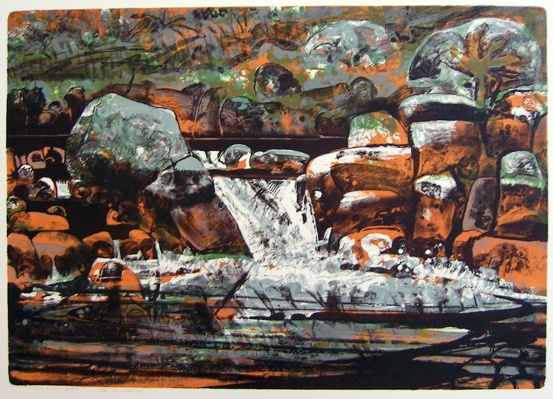 "<h4 style=""margin:0px 0px 5px 0px;"">Six Mile Creek</h4>Medium: Lithograph<br />Price: $715 <span style=""color:#aaa"">