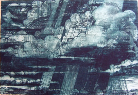 "<h4 style=""margin:0px 0px 5px 0px;"">Thunderheads</h4>Medium: Etching<br />Price: $825 <span style=""color:#aaa"">