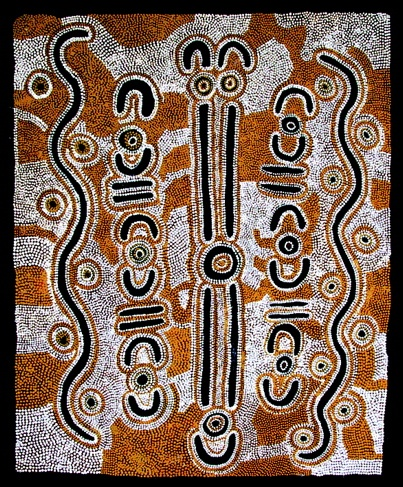 "<h4 style=""margin:0px 0px 5px 0px"">Little Bush Potatoes Dreaming (cat. no. 7) by Louisa Napaljarri Lawson</h4>Medium: Acrylic on canvas<br />Price: Sold<span class=""helptip"" style=""color:#ff0000;"" title=""This artwork been sold""><img src=""/images/reddot1.gif"" border=""0"" height=""10"" /></span> 