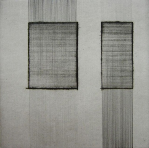 "<h4 style=""margin:0px 0px 5px 0px"">Sequence (series) 1 by Miranda Leighfield</h4>Medium: Drypoint & graphite<br />Price: $500 