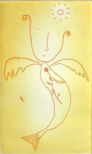 "<h4 style=""margin:0px 0px 5px 0px"">Angel</h4>Medium: Etching<br />Price: Currently Unavailable 