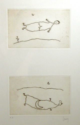 "<h4 style=""margin:0px 0px 5px 0px"">Diptych (moon and tree)</h4>Medium: Etching on copper<br />Price: Currently Unavailable 