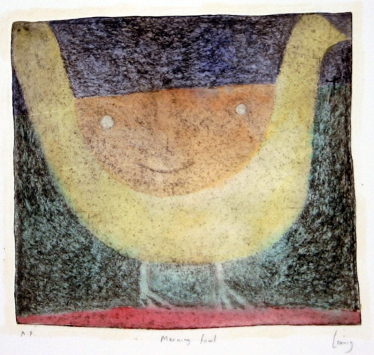 "<h4 style=""margin:0px 0px 5px 0px"">Morning fowl</h4>Medium: Engraving on steel/Hand coloured<br />Price: $1,300 