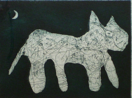 "<h4 style=""margin:0px 0px 5px 0px"">Night Shift</h4>Medium: Etching on steel<br />Price: Currently Unavailable 