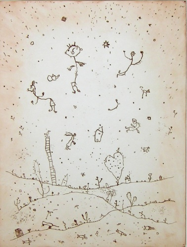 "<h4 style=""margin:0px 0px 5px 0px"">Pieces of the Tree</h4>Medium: Etching and Drypoint<br />Price: Currently Unavailable 