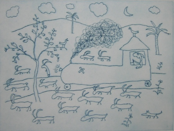 "<h4 style=""margin:0px 0px 5px 0px;"">The flock at night</h4>Medium: Engraving on particle board<br />Price: Currently Unavailable <span style=""color:#aaa"">