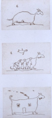 "<h4 style=""margin:0px 0px 5px 0px"">Triptych (beasts)</h4>Medium: Etching on copper, two plates<br />Price: Currently Unavailable 
