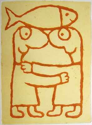"<h4 style=""margin:0px 0px 5px 0px"">fish dance</h4>Medium: Etching<br />Price: Sold 