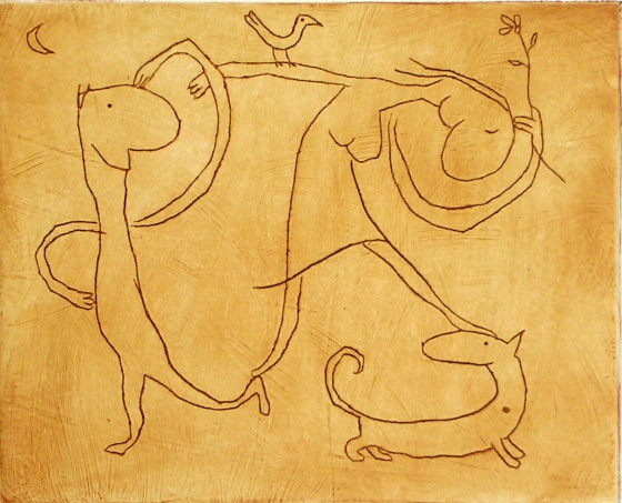 "<h4 style=""margin:0px 0px 5px 0px;"">love dance (2 colour states)</h4>Medium: Engraving on particle board<br />Price: Currently Unavailable <span style=""color:#aaa"">
