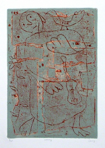 "<h4 style=""margin:0px 0px 5px 0px;"">memory</h4>Medium: Collagraph/Engraving<br />Price: $1,100 <span style=""color:#aaa"">