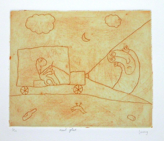 "<h4 style=""margin:0px 0px 5px 0px;"">road ghost</h4>Medium: Engraving<br />Price: Currently Unavailable <span style=""color:#aaa"">