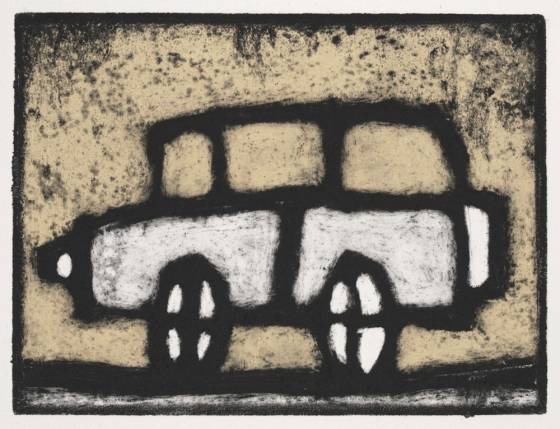 "<h4 style=""margin:0px 0px 5px 0px;"">Car</h4>Medium: Collograph chine colle, Framed<br />Price: $460 <span style=""color:#aaa"">