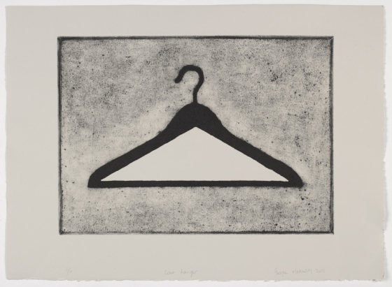 "Coathanger <br /><br />Medium: Collograph Framed<br />Price: $1,100<br /><a href=""Artwork-Matoulas-Coathanger-2851.htm"">View full artwork details</a>"